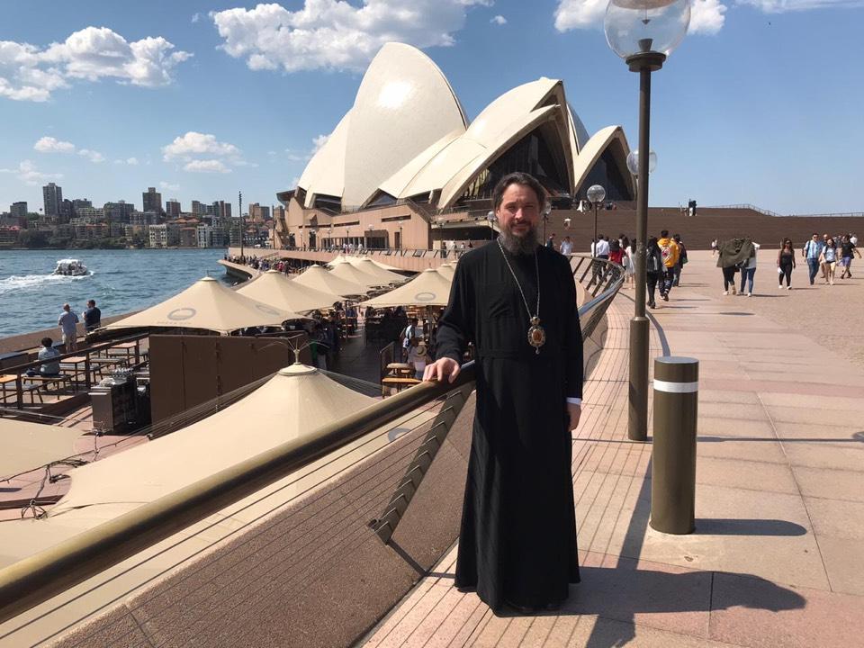 Митрополит Сергий прибыл в Австралию
